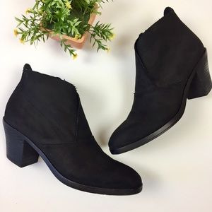 Eileen Fisher Murphy Black Ankle Boots